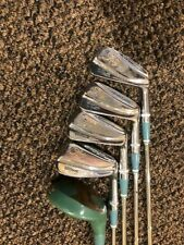 WILSON COUNTRY CLUB LADY 3,5,7,9 + 3 WOOD IRON SET R/H PRO ONLY STEEL LADIES FLX