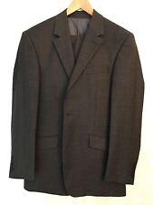 DANIEL HECHER PARIS 100% GREY WOOL Suit /UK Waist 32/Chest 38