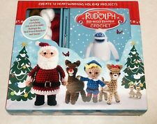 Rudolph The Red Nosed Reindeer Crochet Kit Learn To Create 12 Characters New