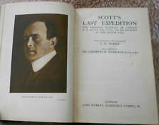 1927 Scott's Last Expedition Journey to the South Pole Antiquarian Exploration