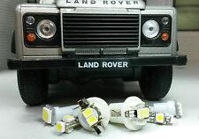 Xénon blanc SMD LED Panneau Outil Compteur LAND ROVER DEFENDER 90/110 Td5 KIT