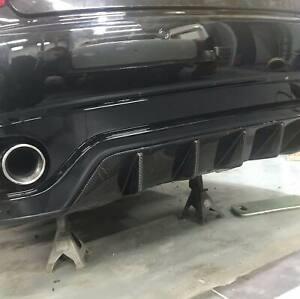 Maserati Granturismo/Grancabrio Carbon Fibre Rear Bumper Diffuser