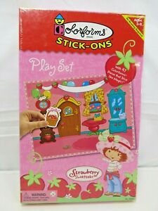 Colorforms Stick-On 2003 Strawberry Shortcake Play Set