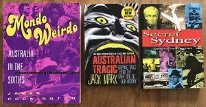 Secret Sydney + Mondo Weirdo 1960s James Cockington Australian Tragic Jack Marx