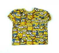 Despicable Me Boys Yellow T-Shirt Age 2-3