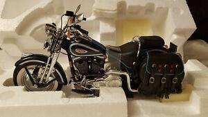 Franklin Mint Harley Davidson Heritage Springer Motorcycle Scale 1:10