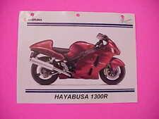"""Genuine 2007 Red Suzuki GSF1300R 1300 Hayabusa """"Dealer"""" Sales Brochure  SSB"""