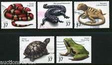 Reptiles and Amphibians US #3814-18 Used Complete Set of 5