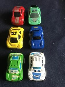 Pull Back & Go Toy Cars X6