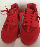 NIKE AIR HUARACHE RUN GS UNIVERSITY RED 654275 600 Size 5.5Y New In Box