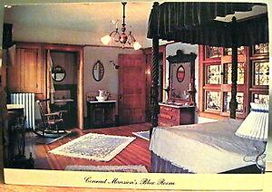Montana Postcard CONRAD MANSION Kalispell Mont BLUE ROOM Northwest Pub Co