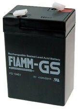 Fiamm | FGS FG10451 6V 4,5Ah Faston 4,8mm LC-R064R5P NP4-6 Powerfit S306/4S