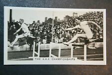 AAA Championships ostacoli ORIGINALE VINTAGE FOTO CARD # in buonissima condizione