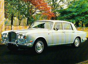 1973 Bentley T-Series T1 Original Sales Brochure Sheet