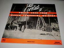 AMATO JAZZ TRIO - MARCO TAMBURINI QUINTET - JAZZ CONTEST '88 - RARE ITA JAZZ LP