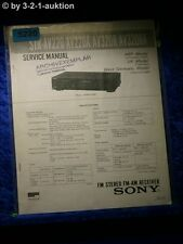 Sony Service Manual STR AV220 AV220A AV320R AV320RA FM/AM Receiver (#5220)