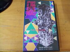 SIOUXSIE AND THE BANSHEES NOCTURNE VHS