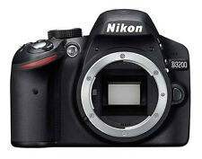 NEW Nikon D3200 24.2 MP Digital SLR Camera - Black (Body Only)