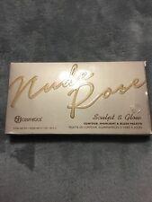 BH Cosmetics Nude Rose Sculpt & Glow Contour, Highlight, & Blush Palette. New