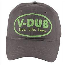 VW Volkswagen V-DUB Live Life Low Cap Hat BRAND NEW DRG014022 DRG-014 8a7391ec44b8