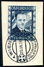 ÖSTERREICH 1936 588 gestempelt ERSTTAG LUXUS DOLLFUSS 1100€++(S1551