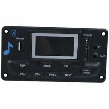 SODIAL LCD Coche Bluetooth Reproductor de MP3 - Negro