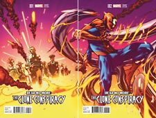 AMAZING SPIDER-MAN CLONE CONSPIRACY #1 2 CONNECTING COVER VARIANT EDITION SET/2