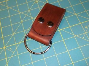 "Leather Belt Strap, Knife Sheath Dangler, 2"" D ring fit 3"" Belt, Pack Strap,"