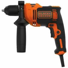 Black & Decker BEH710K 710W Taladro con Maletín - Naranja/Negro