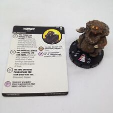 Heroclix Star Trek Away Team set Yarnek #046 Super Rare figure w/card!