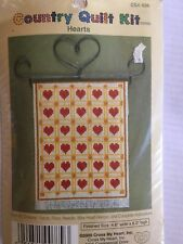Heart - Country Quilt Kit - Cross my Heart