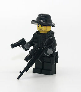 Special Forces Sniper Navy Seals Minifigure made with real LEGO(R) parts