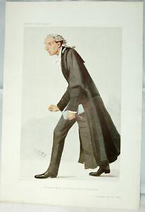 Original VANITY FAIR Legal PRINT: Lord Robert Cecil, K.C., M.P. - SPY, 1906