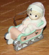 Precious Moments, Baby's First Christmas (151005) 2015 Ornament Porcelain Bisque