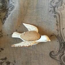 Pin Cushion in the shape of lovely Bird, vintage shabby chic style Sewing Gift