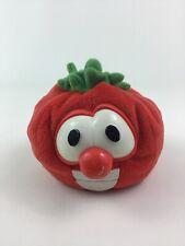 """VeggieTales Bob the Tomato Beanie 4"""" Plush Stuffed Toy Gund Big Idea Vintage 90s"""