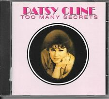 CD COMPIL 20 TITRES--PATSY CLINE--TOO MANY SECRETS--