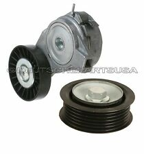 Drive Belt Tensioner Assembly + PULLEY for Saab 9-3 9-5 4898755 + 55562635 SET 2