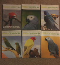 Parrot Society UK Magazines - 7 Issues 2003/04