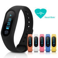 Bluetooth Smart Wristband Bracelet Watch Pedometer Fitness Tracker  For Android