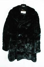 Saint Laurent Pairs Men's Real Mink Fur Pea Coat Jacket Hedi Slimane FW15 46 36