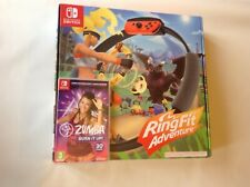 Ninetendo Switch Game Zumba Game Fit Ring Adventure Like Just Dance