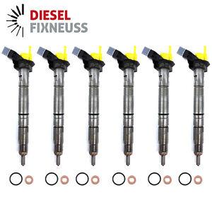6 x Diesel Injector Audi A4 A5 A6 Q5 2,7 3,0 TDI 059130277BE 059130277AR