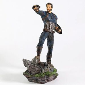 """8"""" Avengers Super Hero Captain America Action Figure Statues Toys Collectibles"""
