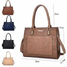 Womens Large Designer Style Tote Bag New Shoulder Handbag Cross Body Shopper Bag