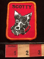 Vintage Dog Patch ~ SCOTTY ~ Canine 69Z0