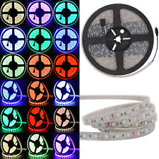 5M/16ft 5050 300LED RGB Light LED Strip Waterproof IP68 Tube Underwater 12V 60/M