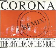 CORONA w/ ICE MC Lee Marrow Mephisto Rhythm of the night 7TRX REMIXES CD single