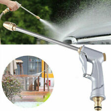 Garden Spray Water Gun Hose Long Nozzle High Pressure Adjustable Car Wash Washer