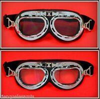 Pack 2 Paar Brille Sonnenbrille [T-010 + T-013] Motorrad Solex Motorradfahrer